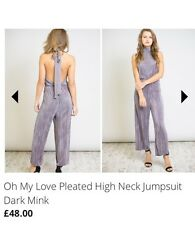 Topshop Oh My Love Missguided Jumpsuit Size 12