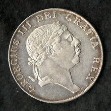 Ireland Bank Token 1813 Silver Ten Pence George III About Unc Choice Rare
