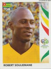 N°526 ROBERT SOULIEMANE # TOGO STICKER PANINI WORLD CUP GERMANY 2006
