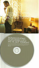 RONAN KEATING & LULU We've got tonight BOB SEGER Remake Cover UK PROMO CD single