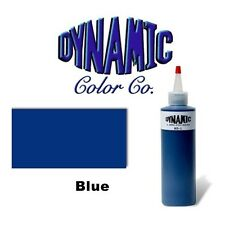 DYNAMIC BLUE 1-oz Tattoo Ink Brite Vibrant & Dark Color Supply