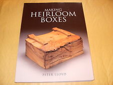 Book: Making Heirloom Boxes By Peter Lloyd - As Photo