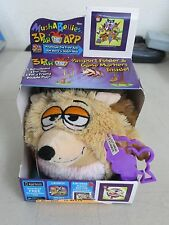 NEW MushABellies Chatter Heckle Hedgehog MushABelly Plush Toy 3D AR Game 86022
