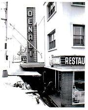 Anchorage Alaska Earthquake Denali Restaurant B & W photo
