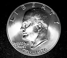 TOP SOLID GEM-BU++++ 1976-S  SILVER IKE DOLLAR (HIGH MS++++ GRADE) MUST SEE #9