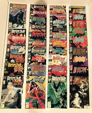 DETECTIVE COMICS/BATMAN #600-700 FULL RUN-1ST APP ANARKY/SPOILER-DEADSHOT 1989