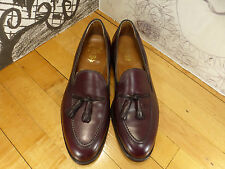 BROOKS BROTHERS New York BURGUNDY TASSEL LOAFERS 769 SIZE 10.5 D Made in USA!!