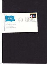 """UNO New York Brief Mi.Nr. """" 146 """" mit Sloganstempel 10.12.1965, siehe Scan"""