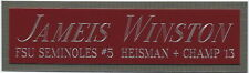 JAMEIS WINSTON FSU NAMEPLATE AUTOGRAPHED Signed FOOTBALL-HELMET-JERSEY-PHOTO