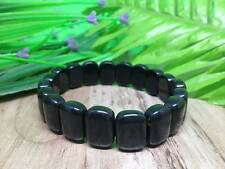 Black Obsidian Fancy Bracelets for Chakra Balancing, Crystal Healing