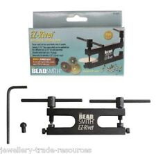 Beadsmith Ez-rivet Metal Hole punch And Rivet Tool Kit for  Jewellery Making