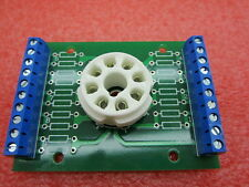 1SET 8pin K8A tube test diy Experiment prototyping pcb for 6V6 EL34 KT88 6SN7 EM