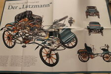SV0132) Opel Lutzmann - Betti - Poster 198?