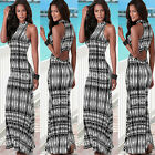 Sexy Women Summer BOHO Long Maxi Evening Party Long Dress Beach Dresses Sundress