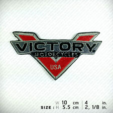 Victory Motorcycles EMBROIDERED PATCH IRON ON, Chopper Big Bike Vegas Gunner ...