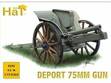 Hat 1/72 8242 WWI / WWII Italian Deport 75mm Gun