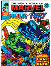 "Mighty World Of Marvel No.261  : 1977 :   : ""Rage Of The Hulk ! "" :"