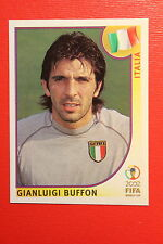 PANINI KOREA JAPAN 2002 # 459 ITALIA BUFFON WITH BLACK BACK MINT!!!