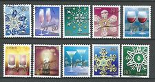 ˳˳ ҉ ˳˳G81 Japan Commemorative Greeting Snowflakes 2013 complete set