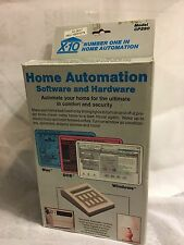X-10 Home Automation System Interface With Software & Connecting Cable NEW CP290