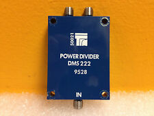 TRM Microwave DMS222, 0.5 to 2.0 GHz, 20 dB SMA (F), Power Divider (New!)