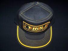 Eagle Sonar vintage Snapback 80s cap 1980s Fish Finder hat black mesh adjustable