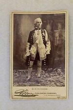 Antique Cabinet Photo of American Actor Edward H Sothern - Costume VR