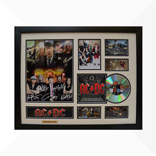 ACDC Signed & Framed Memorabilia - 1CD - White/Black Edition - AC/DC AC DC