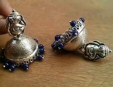 BEAUTIFUL SILVER PLATED JHUMKA JHUMKI FOR GOSSIP GIRLS AND WOMEN,NEW
