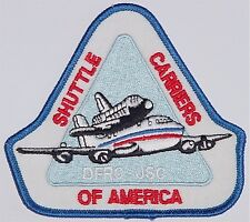 Aufnäher Patch Raumfahrt NASA Shuttle Carriers of America DFRC JSC .......A3050