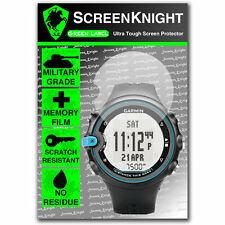 ScreenKnight Garmin Swim SCREEN PROTECTOR invisible military shield
