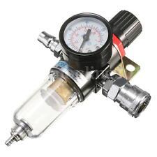 1/4 '' Aria Compressore filtro separatore d'acqua Kit con Regolatore Gauge