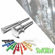 KTM SX 144 150 250 Keihin PWK Easy Adjust Idle & Air Mixture Screw Set Polished