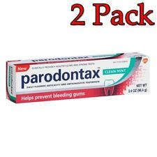 Parodontax Clean Mint Daily Fluoride Toothpaste, 3.4oz, 2 Pack 053100384709T509