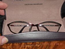 OLIVER PEOPLES KATERINA EYE GLASSES TITANIUM FRAMES w/ OP CASE