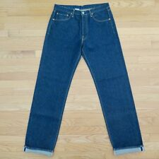 VINTAGE ORIGINAL REPLAY JEANS DENIM SELVEDGE 1990s 36X34 MADE ITALY RAW 902