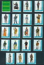 Ajman State- Military Uniforms MNH Imperf.......................Br - G 7415