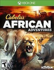XBOX ONE Cabela's African Adventures BRAND NEW VIDEO GAME!