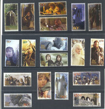 New Zealand-Lord of the Rings & The Hobbit complete collection 37 stamps mnh