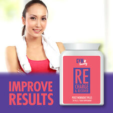 GYM BUNNY RECHARGE & RECOVER POST WORKOUT PILLS – TONE UP MUSCLE RECOVERY
