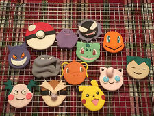 Custom Edible Pokemon Cupcake Decorations