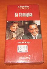 """Videocassetta/VHS/Ettore Scola """" LA FAMIGLIA """" La Repubblica/cod.667653"""
