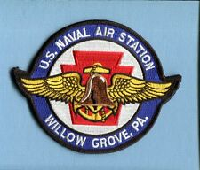 NAS NAVAL AIR STATION WILLOW GROVE PA US Navy Base Squadron Jacket Patch