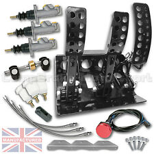BMW E46 Remote Hydraulic Floor Mounted Pedal Box + KIT B CMB6052-HYD-KIT+LINES