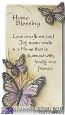 Arts in stone HOME BLESSING gift plaque - Beautiful House-warming new home gift