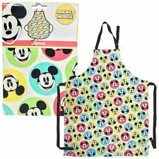 New Disney Mickey Mouse Polka Dot Apron Kitchen BBQ Retro Official