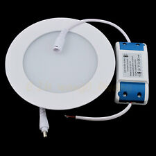 Round Cool / Warm White 3W 5730 SMD Led POP Panel Light False Ceiling AC85-265V