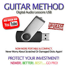 75,000+ BANDS/SONGS and 4050+ Backing Tracks Guitar Tab Software Lessons USB