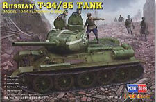 HobbyBoss 84807 1/48 T-34/85 (Model 1944 flattened turret)Tank