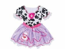 New Girl Fancy Nancy Cow Poodle Dress Up Party Halloween Costume Size 3T 4 5 6